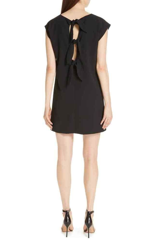 90364957496 ALICE AND OLIVIA - Carita Back Tie Shift Dress - NEW WITH TAG - SIZE 6   fashion  clothing  shoes  accessories  womensclothing  dresses (ebay link)