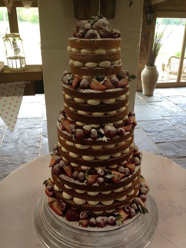 Naked Wedding CakeKandi Wall Rose Matthews I Like How They Did