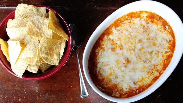 Turn your favorite Mexican dinner into a cheesy dip fast with just five ingredients!