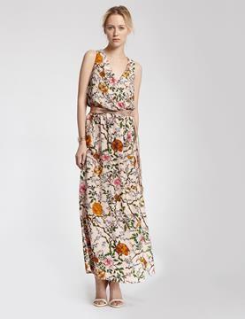 morgan robe longue motif floral color summer rhapsody pinterest - Robe Longue Colore