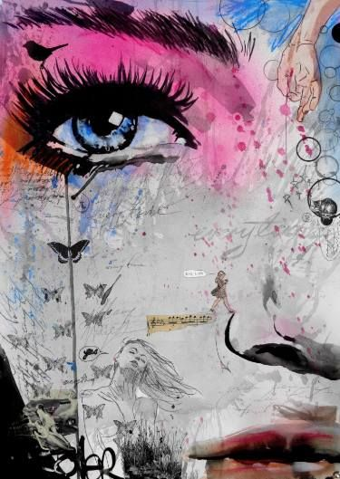 "Saatchi Art Artist Loui Jover; Drawing, ""everytime"" #art"