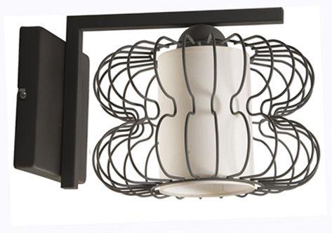 Kinkiet BRAJAN z abażurem w stylu industrialnym dostępny na naszej stronie www. przystojnelampy.pl #czarna #lampa #kinkiet #lamp #lamps #lampy #oświetlenie #styl #industrialny #industrial