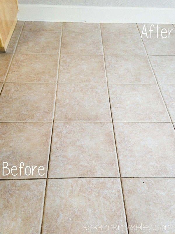 17 best ideas about clean tile grout on pinterest diy