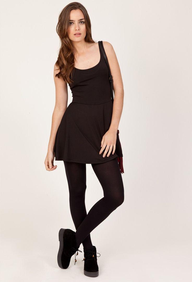 Vestido Vexi negro - Praline - online