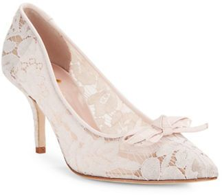 Kate Spade New York Jace Lace High Heels at Lord & Taylor #affiliatelink