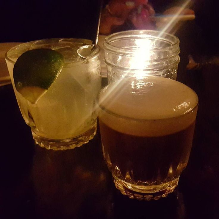 Ahhh...mazing drinks at #TheVillageIdiot tonight in #WestHollywood with @lizvelador. #HotFlash with #ElJimador #Tequila #Serrano #Chile #Agave #Lime #GingerBeer and I had a #Buzzsaw with #FliquorBeanWhiskey #Cointreau #OrangeBitters #AngosturaBitters #Chocolate #Bitters #Frangelico #Foam. #Melrose #MelroseDistrict #Spirits #Alcoholic #Drinks by s2kabron March 26 2016 at 12:45AM