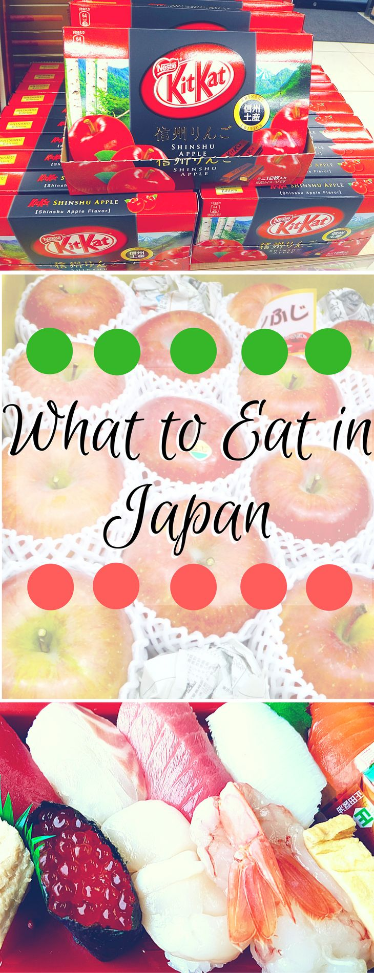 Must try foodie dishes in Japan.  Eats you've never heard and the classics from Nigiri to Kobe to Donburi