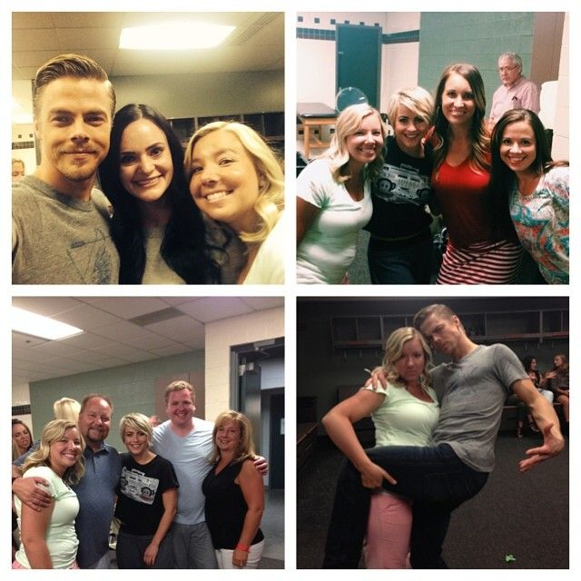 derek hough family | Hough Family Union In Utah, Derek Hough Dances With His Mom Move Live ...