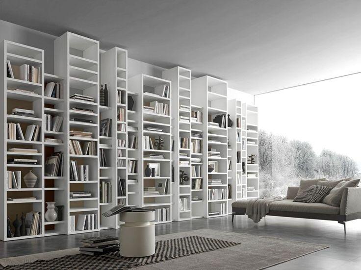 Oltre 25 fantastiche idee su librerie a parete su - Librerie da camera ...