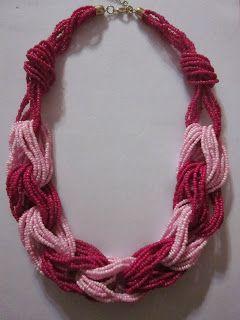 .Decorate tu misma.: Videotutorial de collar de bolitas con eslabones.