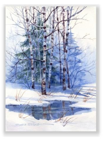 Watercolor Greeting Cards Prints Gifts Susie Short's Gift Gallery