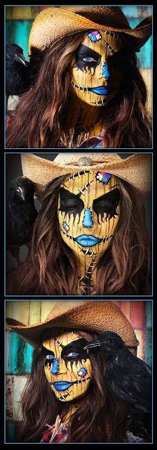 a Mason says what?: Scarecrow Makeup