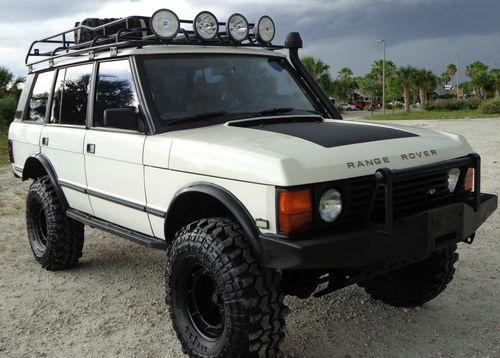 Land Rover : Range Rover County LWB Sport Utility 4-Door