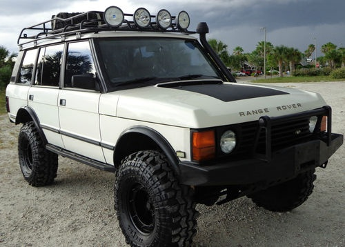 Land rover range rover county lwb sport utility 4 door 4x4 madness pinterest the old - Land rover garage near me ...