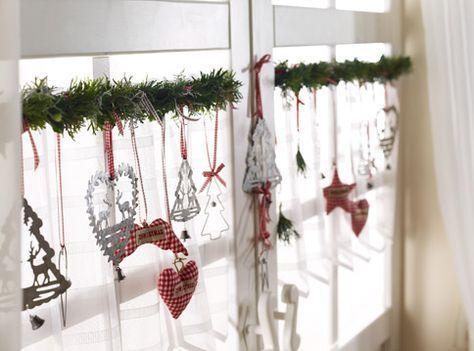 Weihnachtliche Deko und Tischdeko: Weihnachten im ganzen Haus – #deko #ganzen #H …  – Weihnachten dekoration