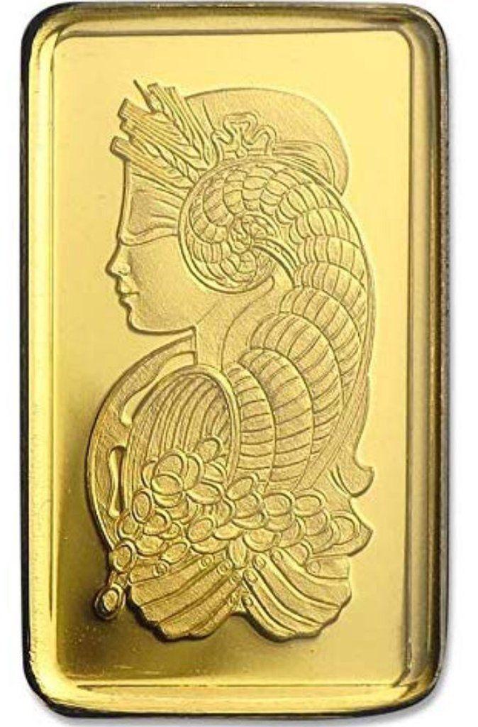 Gold 1 Gram Gold Bar Lady Fortuna Pamp Suisse In 2020 Gold Bar Fortuna Tattoo Printer