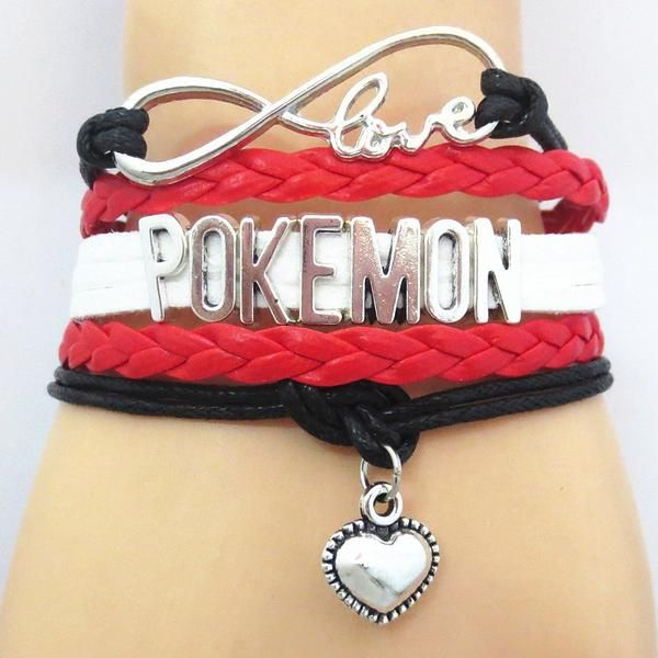 Show the world your love for Pokemon with this premium hand-made braided leather bracelet wrap. Don't miss our sales event going on right now!