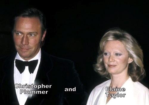 Christopher Plummer And Elaine Taylor