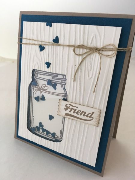 Jar of Love stamp set + Everyday Jars framelits (bundle!)