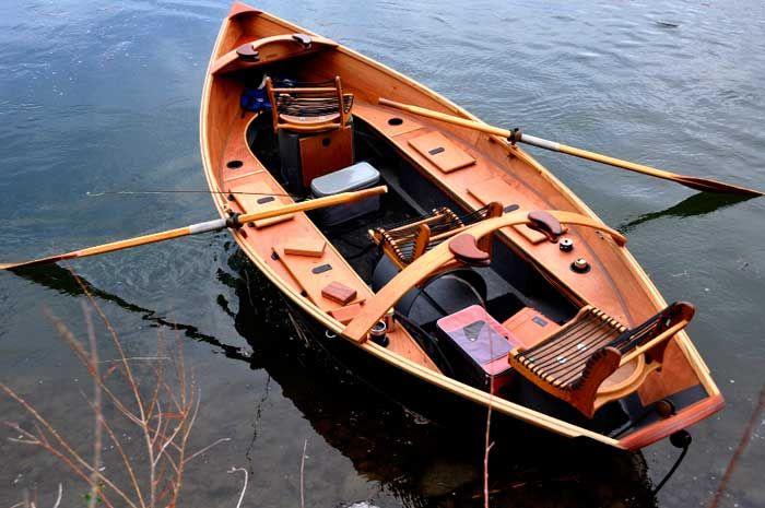 Holy boat: Topic Wooden fly fishing boat