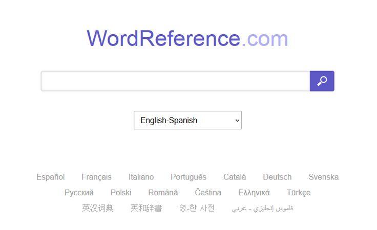 English To French Italian German Spanish Dictionary Dictionary Spanish Language Acquisition Language