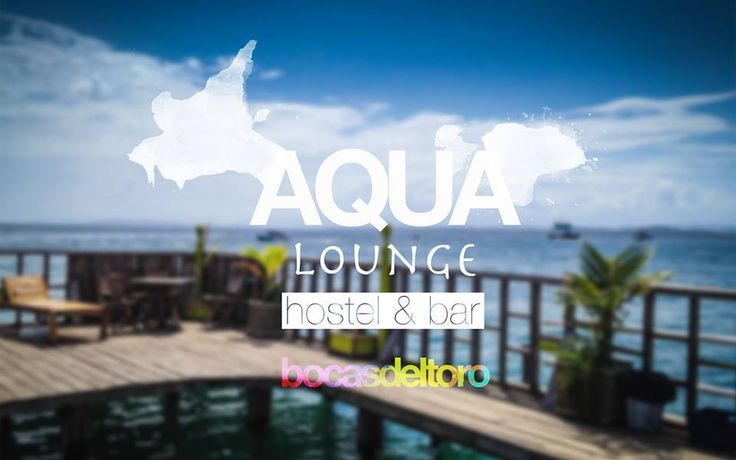 Aqua Hostel/Bar on Isla Carenero. Experience the beauty that Bocas del Toro has to offer from this hostel, lounge and bar – built entirely over the water!