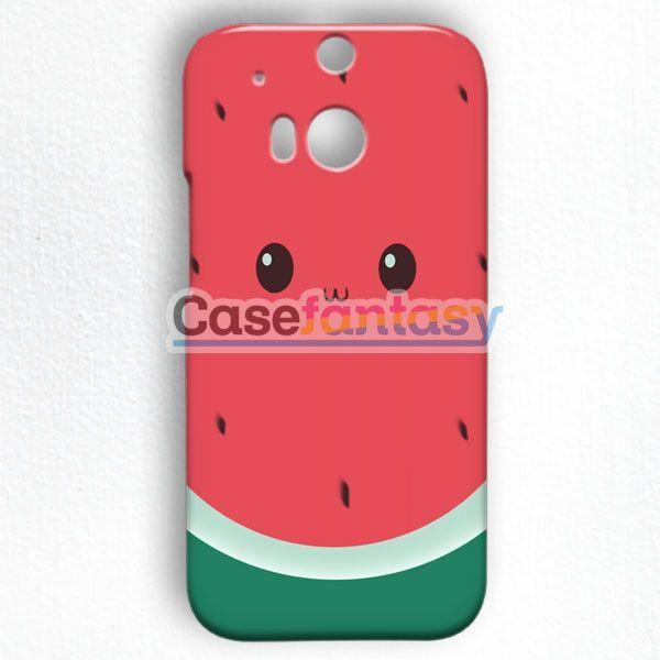 Cute Watermelon Clipart HTC One M8 Case | casefantasy