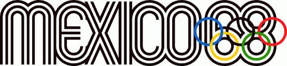 Lance Wyman (1932-) – Logo des jeux Olympiques de Mexico (1968)