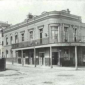 The Frisco Hotel at 46 Dowling St,Woolloomooloo,Sydney is a three-storey building constructed in 1907 on the site of a c.a. 1854 hotel, with additions mirroring the 1907 building made in 1921.