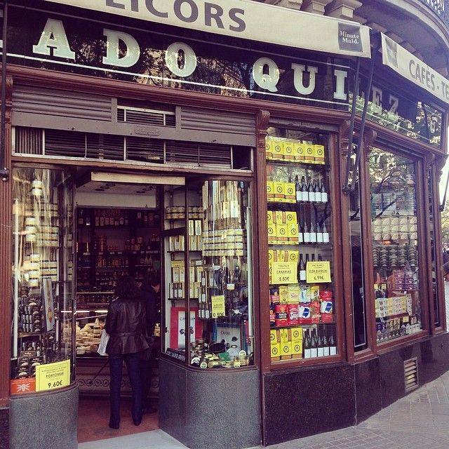 Colmado Quílez: Traditional deli with old school charm. Buy your fix of canned goods, chocolate and other Spanish treats here. http://lafuente.es/