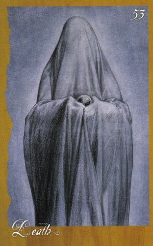 Brian Froud - a beautiful Death card from one of his Faerie Oracle decks
