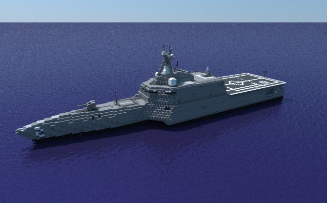 USS Independence (LCS-2) Minecraft Project
