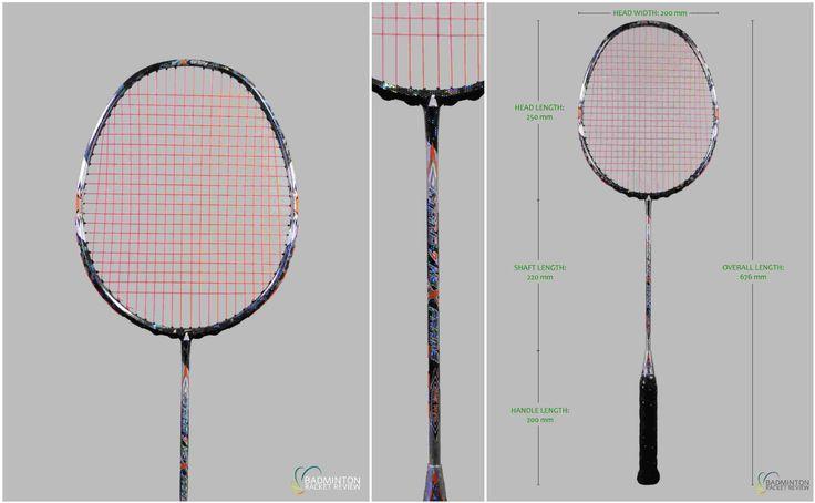 Ashaway Atomic 7 Badminton Racket