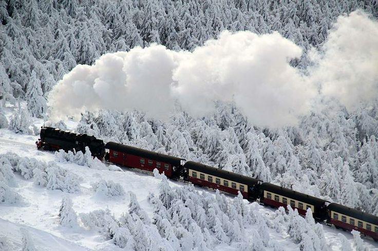 So schön verschneit - Deutschland aus der Luft