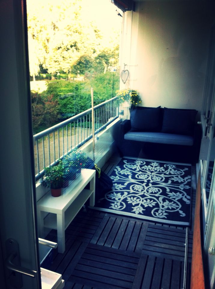My balcony, not yet ready but I love it! | Felies01 |