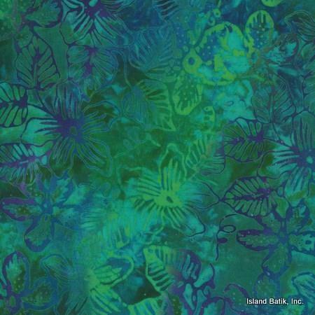 Island Batik Rayon - Fiji Blossoms