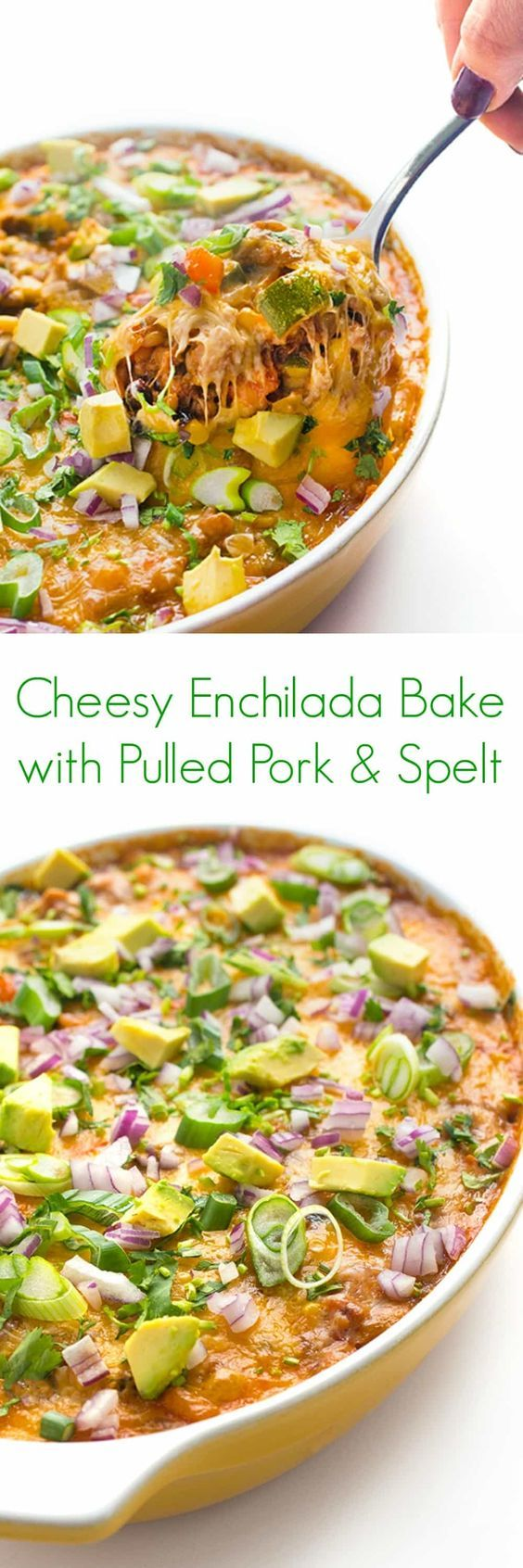 Better Home And Gardens Recipes Australia - Cheesy enchilada bake with pulled pork and spelt recipe an easy healthy dinner that