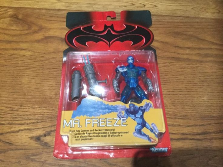 "BATMAN AND ROBIN ""  MR FREEZE ""  ACTION FIGURE 1997 KENNER"