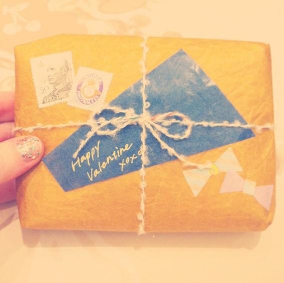 Rainy Day Tokyo Valentines: Gifts Ideas, Tokyo Valentines, Mail Ideas, Style Gifts, Gifts Wraps, Air Mail, Collage Style, Snails Mail, Happy Valentines