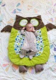 Owl nap mat