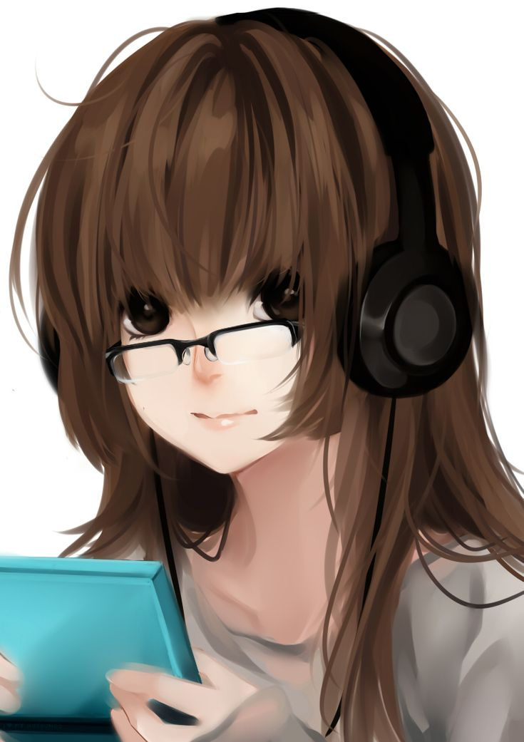 Anime Nerd Girl With Brown Hair | www.pixshark.com ...
