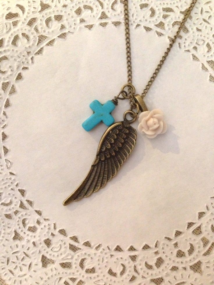 Under His Wing necklace - all purchases support their adoption