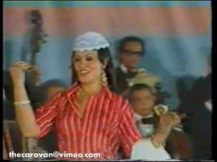This is Egyptian dancer Fifi Abdu performing during a concert headlined by famous Arabic singer Warda al Jazairia (1939-2012).  This part of Fifi's performance…