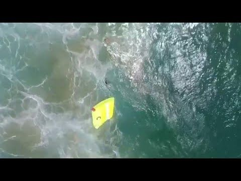 In The News This Week - A drone in Australia saves two swimmers from drowning... https://toptenrobots.com/in-the-news-this-week