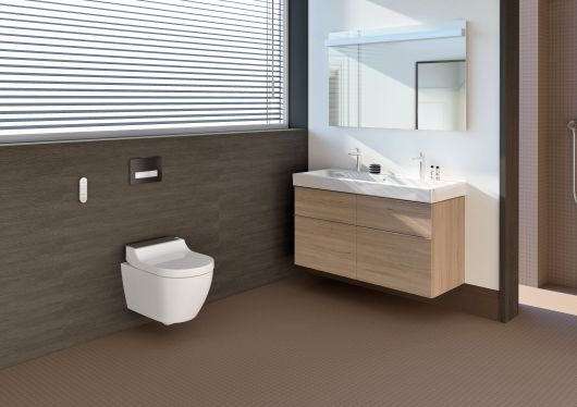Geberit launches new AquaClean Tuma shower toilet