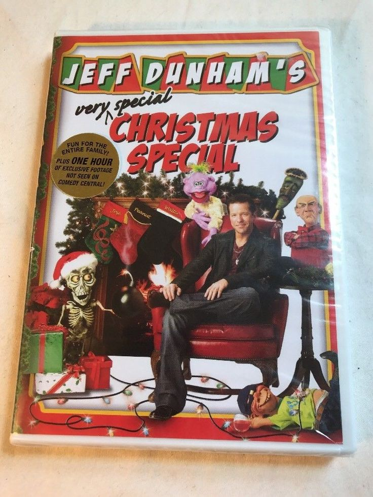 JEFF DUNHAM'S VERY SPECIAL CHRISTMAS SPECIAL DVD BRAND NEW SEALED