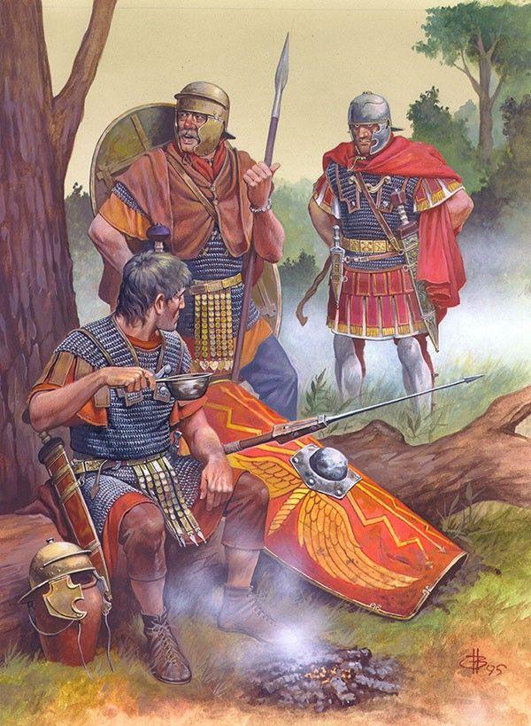 """The Roman army in the time of Germanicus"" Fig. IV Nicholas Subkov (Николай Зубков)"
