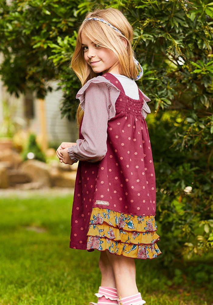 10eae89d2e7ee Class Act Dress - Matilda Jane Clothing -This joyful jumper is a new style  for us, but quite the quintessential school-girl dress with its traditional  ...