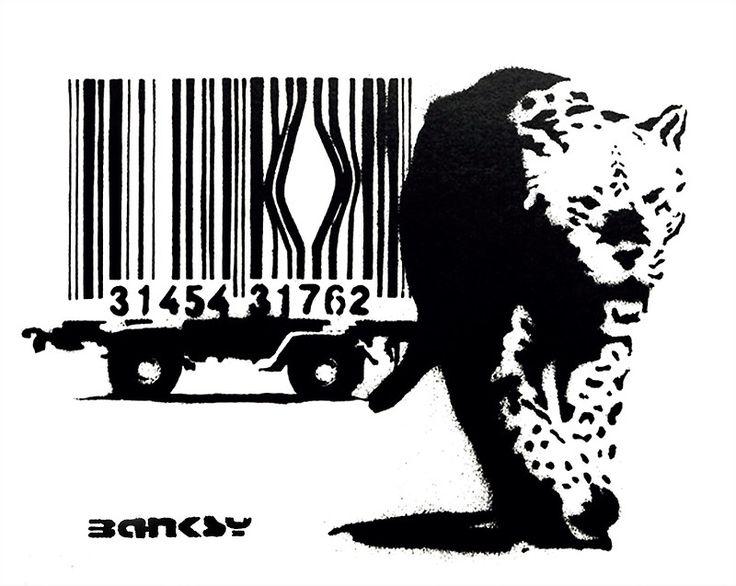 BANKSY - BARCODE by BanksyWalls