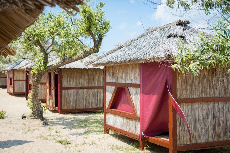 Камышовый домик